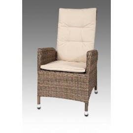 SILLON RECLINABLE C/T-2633AA-MARRON T.2023  **DTO.30%**