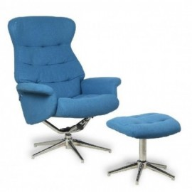SILLON C/REPOSAPIES T.113-AZUL  **DTO.30%**