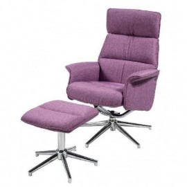 SILLON C/REPOSAPIES T.101-LILA  **DTO.30%**